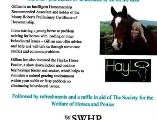 WHT presents an evening with Gillian Bradley IHRA 17/05/2016 Goodrich