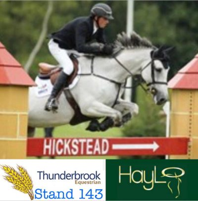 haylo for sale through thunderbrook at hickstead royal international horse show