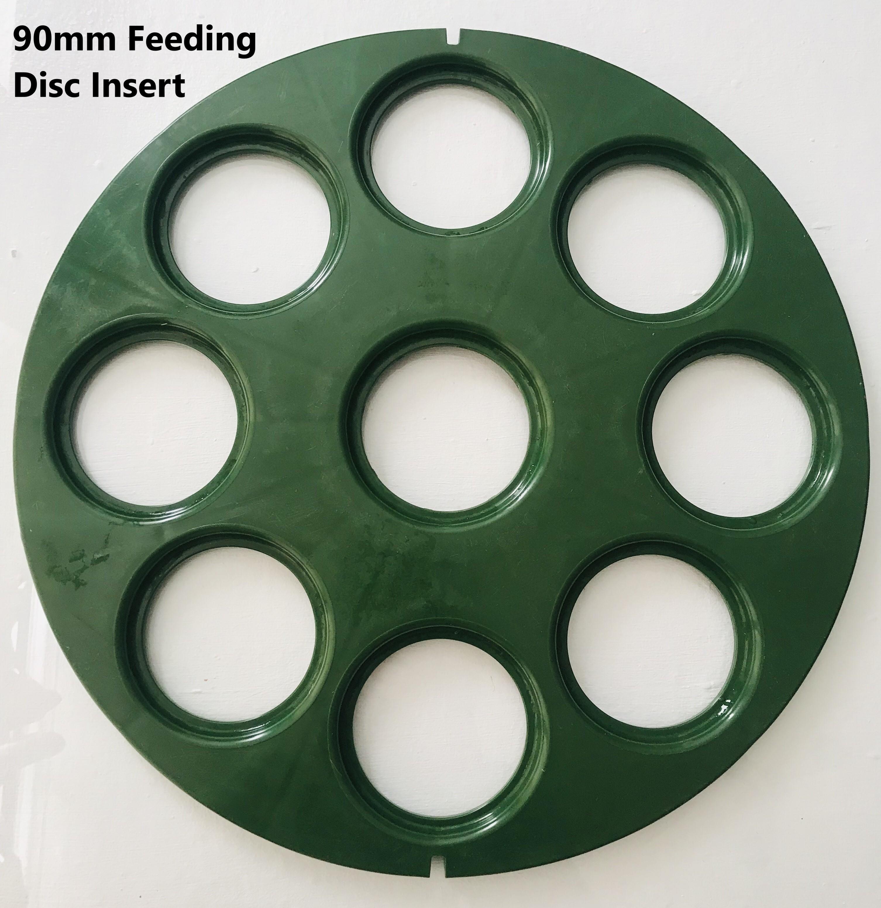 90mm feeding disc