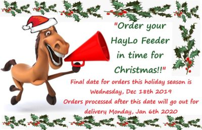 HayLo Christmas orders
